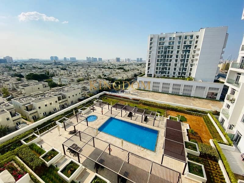 Pool View | 1BR | Chiller Free| Candace Acacia