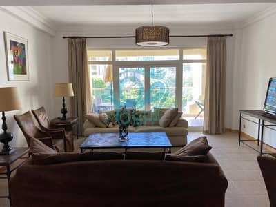 1 Bedroom Flat for Rent in Palm Jumeirah, Dubai - Spacious & Excellent 1BR Apartment | Tranquil Community View