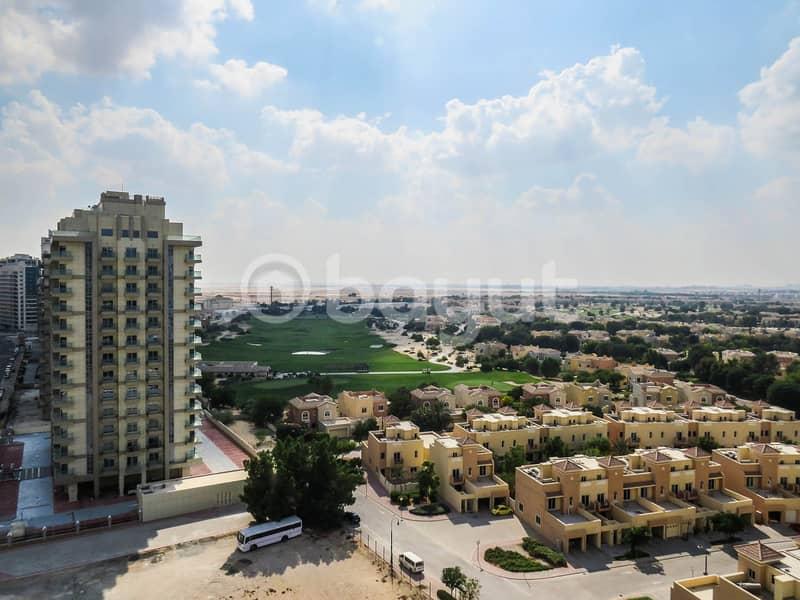 بنتهاوس في شقق الأرينا مدينة دبي الرياضية 2 غرف 95000 درهم - 4912121