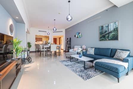 شقة في جولدن مايل 6 جولدن مايل نخلة جميرا 2 غرف 18000 درهم - 4910913