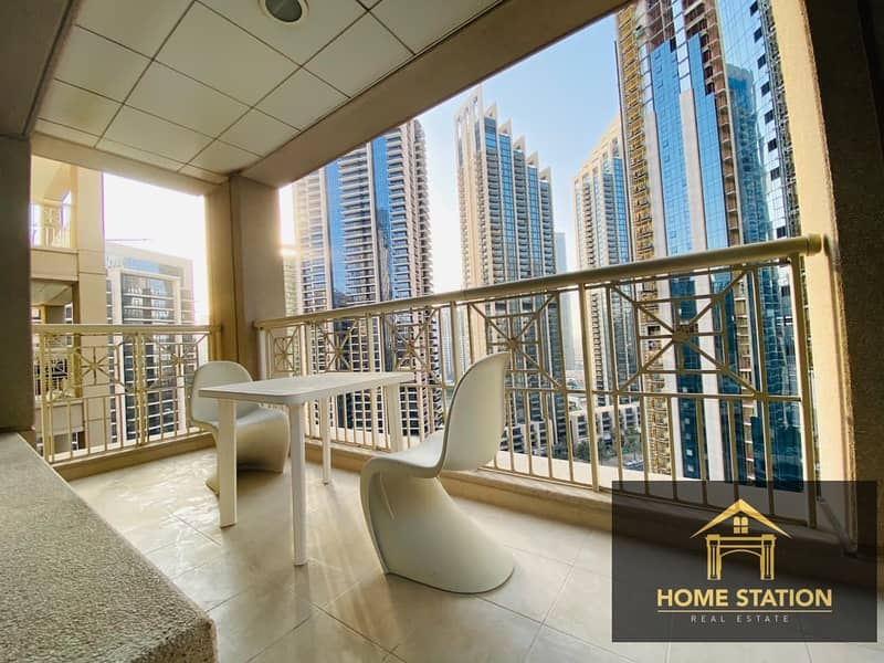 High Floor Spacious Apartment with Burj Khalifa and Fountain view