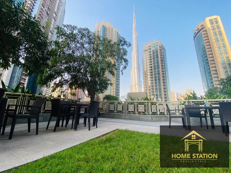 2 High Floor Spacious Apartment with Burj Khalifa and Fountain view