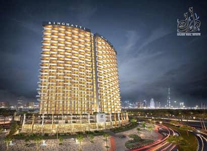 فلیٹ 3 غرف نوم للبيع في بر دبي، دبي - Apartment for sale with views of Khalifa Tower and the water canal in installments