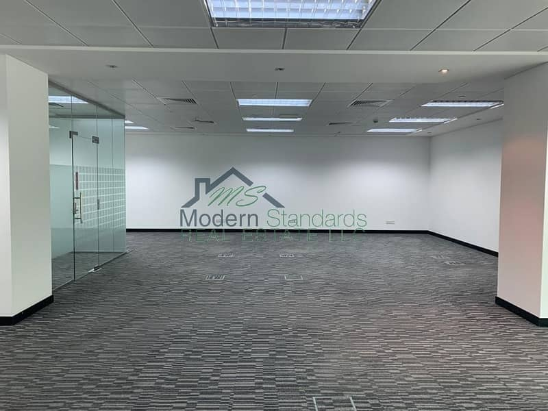 2 Spacious   Fully Fitted Office with Glass Partitions   DIFC