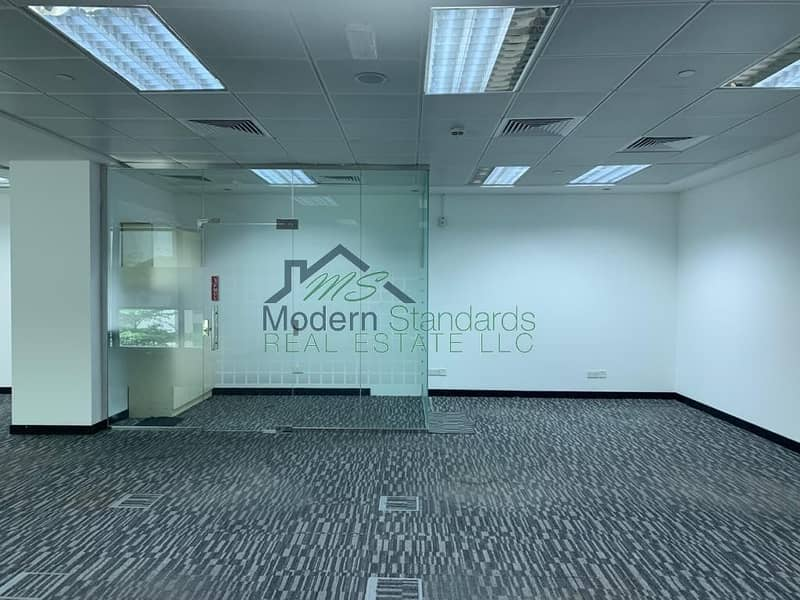 10 Spacious   Fully Fitted Office with Glass Partitions   DIFC