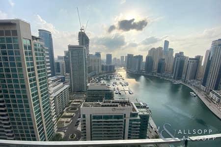 شقة 3 غرف نوم للايجار في دبي مارينا، دبي - 3 Beds   Full Marina Views   March Move