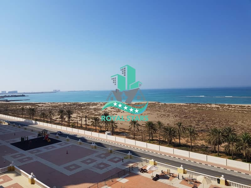 Amazing Sea View Studio Apartment in the Royal Breeze Residence with Calm and Friendly Atmosphere