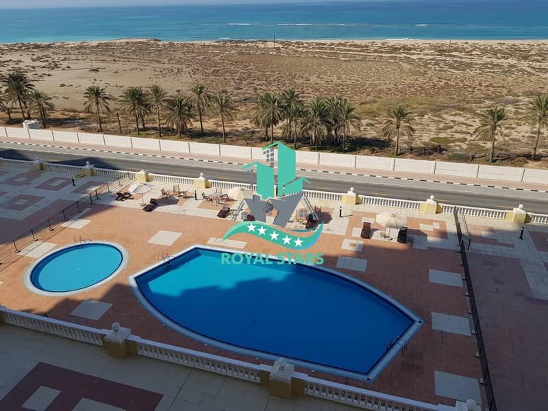 2 Amazing Sea View Studio Apartment in the Royal Breeze Residence with Calm and Friendly Atmosphere