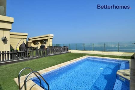 Unfurnished | Vacant | Private Pool | Sea View