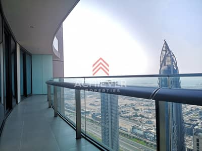 2 Bedroom Apartment for Rent in Downtown Dubai, Dubai - Large 2 BR | High Floor | Chiller Free