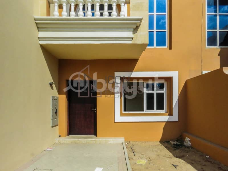 000 4-Chqs BEAUTIFUL 4 B/R With Maid Room With Private  Garden
