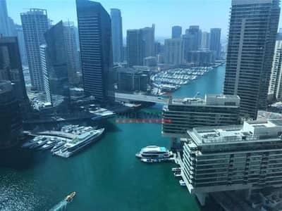 فلیٹ 1 غرفة نوم للبيع في دبي مارينا، دبي - ^Investment Price! Furnished 1Bed w/Beautiful Marina View