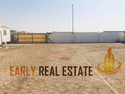 Plot for Rent in Mussafah, Abu Dhabi - LAND FOR RENT I SALE I DIFFERENT SIZE IN WITH OFFICES AND POWER I TOILET   MUSSAFFAH I  ICAD