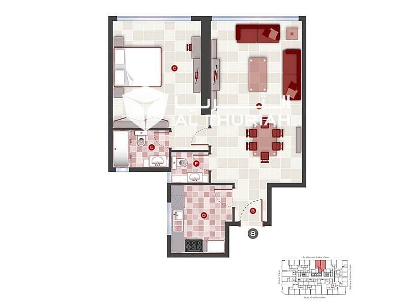 16 1 BR | Massive Apartment | Free 1 Month Rent