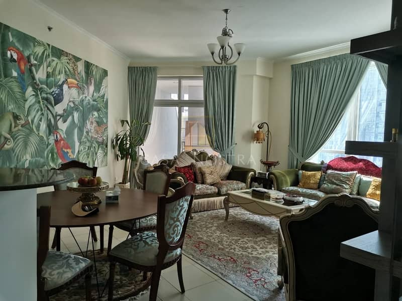 2 Marina view High End Furnished 2BR on Higher floor