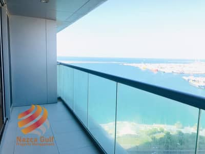 3 Bedroom Flat for Rent in Corniche Area, Abu Dhabi - Spacious and Elegant 3BHK Apartment with Sea View