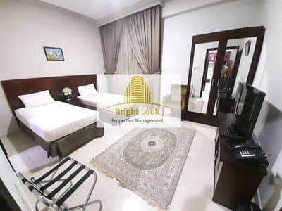 فلیٹ 2 غرفة نوم للايجار في شارع المطار، أبوظبي - Fully Furnished 2 BHK with Gym