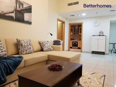 شقة 1 غرفة نوم للبيع في أبراج بحيرات الجميرا، دبي - Vacant | Furnished | Mid Floor | Panoramic View