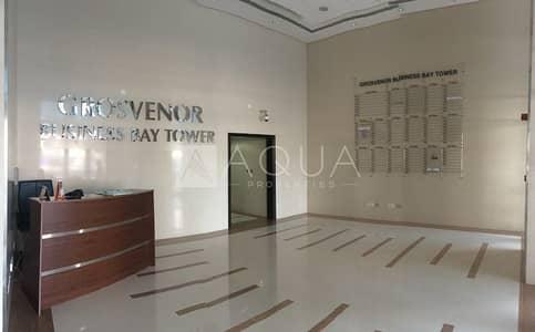 مکتب  للايجار في الخليج التجاري، دبي - Fitted Office   Grosvenor Business Tower