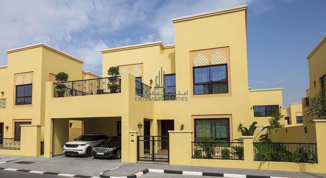 Nad Al Sheba Villas For UAE citizens | 85% Bank Mortgage