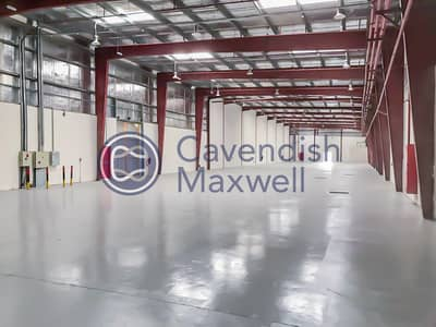 مستودع  للايجار في مجمع دبي للاستثمار، دبي - Vacant   Showroom with Warehouse   Main Road