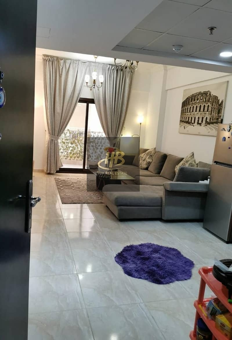 Furnished 1BR Apartment | Balcony | Ready to move in