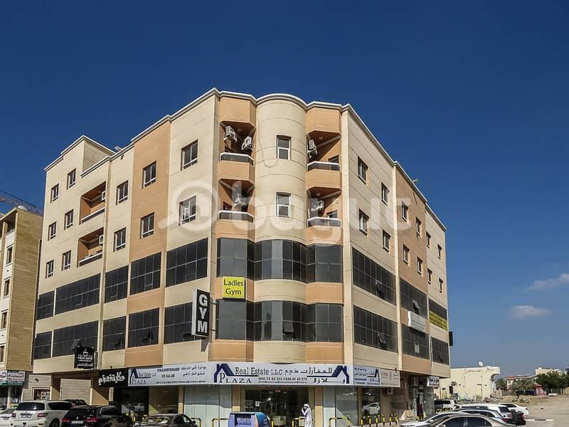 شقة غرفتين وصالة  في الروضة 2 -- 20,000 درهم