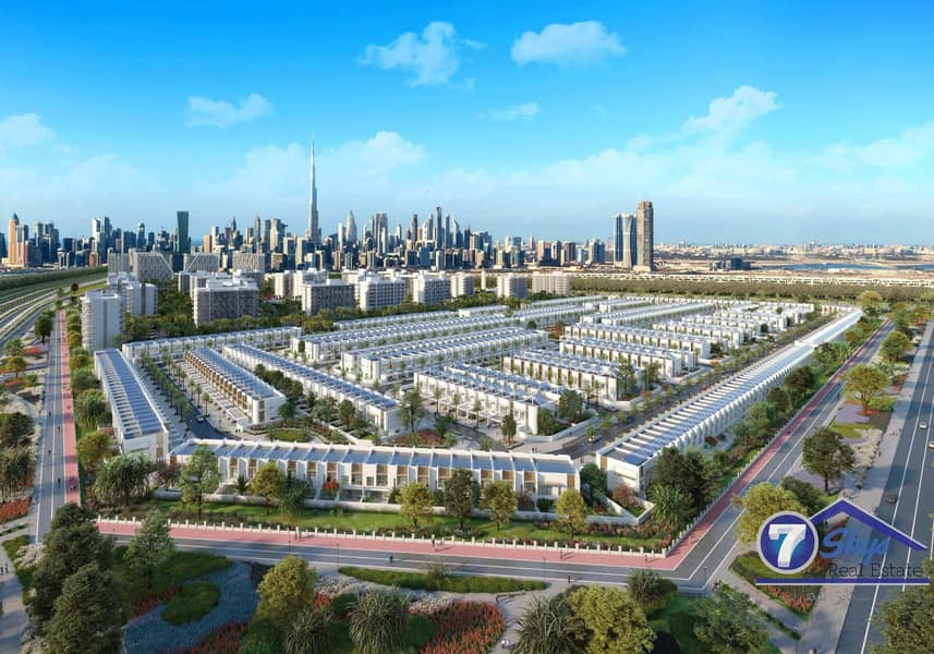 31 2 BR+ Maid Townhouse | Amazing Offer | Meydan