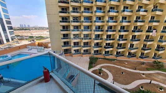 Studio for Rent in Dubai Production City (IMPZ), Dubai - POOL VIEW | VACANT | BIG  STUDIO