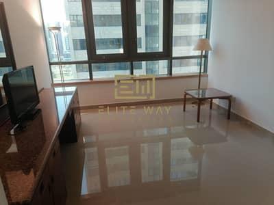 Studio for Rent in Corniche Area, Abu Dhabi - free ADDC studio in cournich