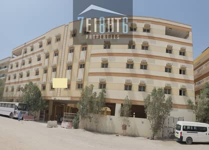 Labour Camp for Rent in Jebel Ali, Dubai - 202 Rooms independent camp with 6 person capacity + 112 w/c's + 112 bathrooms for rent in Jebal Ali Industrial Area 1