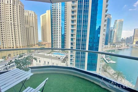 1 Bedroom Flat for Sale in Dubai Marina, Dubai - Marina and Sea View | One Bed | 799 Sq.Ft.