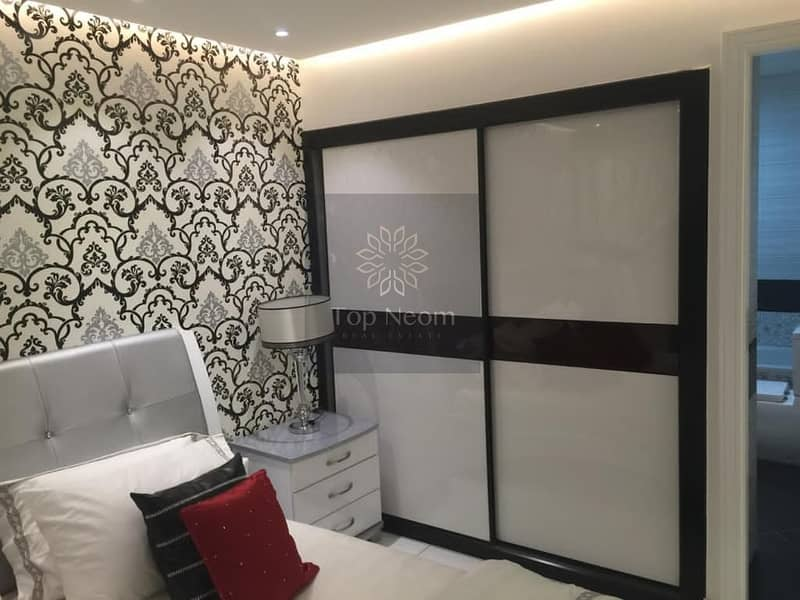 2 Furnished & Convertible into 2 BR Unit - Brand New