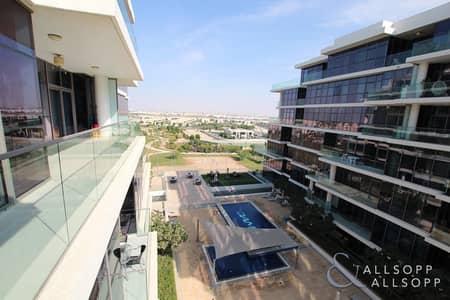 فلیٹ 1 غرفة نوم للبيع في داماك هيلز (أكويا من داماك)، دبي - 1 Bedroom | Vacant | Pool and Park View