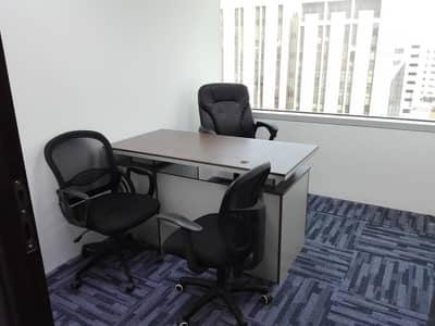 FULLY FURNISHED OFFICE SPACE FOR @ 18,000