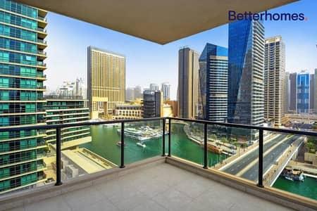 فلیٹ 3 غرف نوم للايجار في دبي مارينا، دبي - Marina View | Unfurnished | Maid's | Balcony