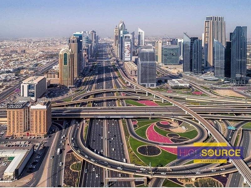2 Free Hold Plot For Sale On Sheikh Zayed Road Dubai Near Metro