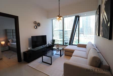 1 Bedroom Flat for Rent in Dubai Marina, Dubai - High End | Upgraded interior I Marina View