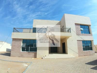 7 Bedroom Villa for Rent in Al Bateen, Al Ain - Brand New 7Bhk Villa With Front Yard For Rent Bateen 160K