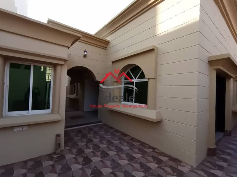 Deluxe 3BR villa in excellent location   maid and driver room