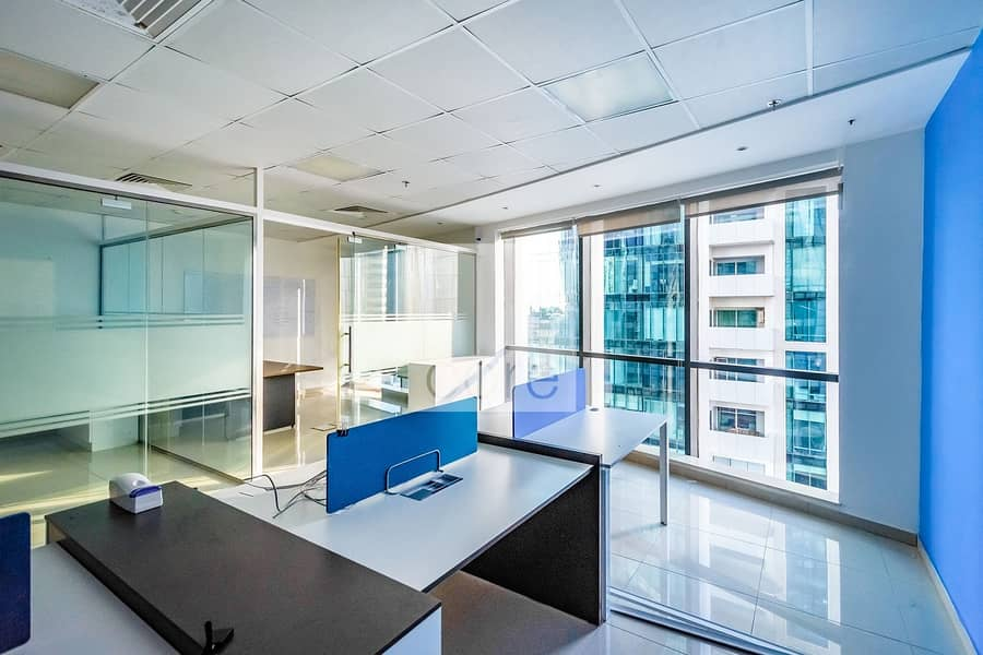 Fitted Office For Rent In Regal Tower