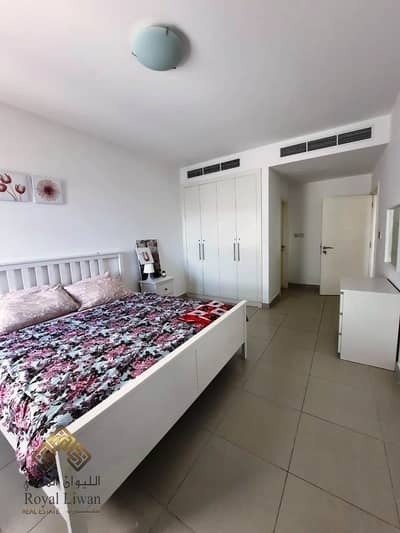 1 Bedroom Flat for Rent in Arjan, Dubai - Near Miracle Gardens Lincoln Park B Building Arjan 1BR fully furnished Double Balcony Bright unit