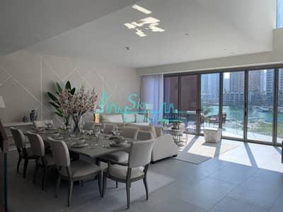 4 Bedroom Villa for Sale in Dubai Marina, Dubai - Luxury 4-BR Villa In Jumeirah Living MARINA GATE