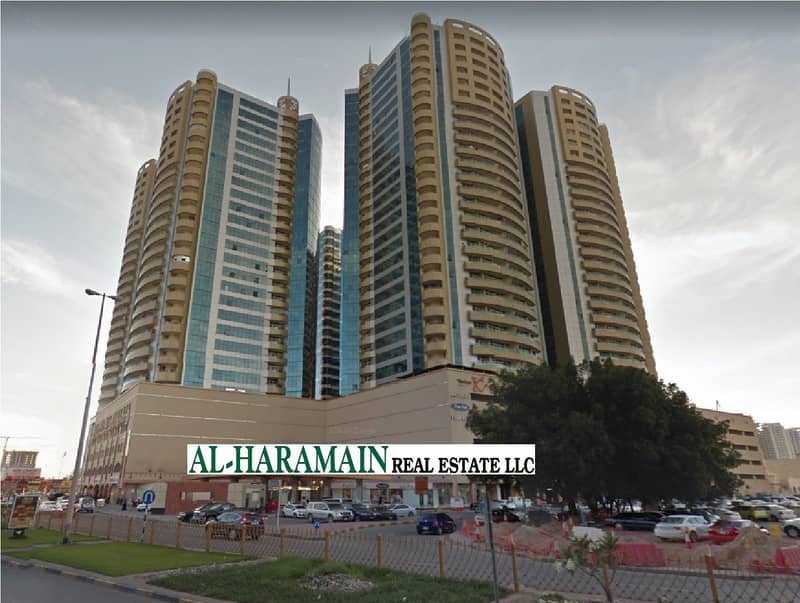 1 Month Free, 2 Bedroom Hall in Horizon Towers Ajman