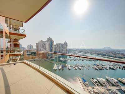 3 Bedroom Flat for Sale in Palm Jumeirah, Dubai - Panoramic Sea View 3 Bedrooms High Floor