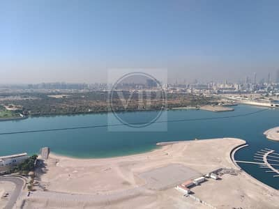 3 Bedroom Flat for Rent in Al Reem Island, Abu Dhabi - Magnificent 3BR Apt + Maid's Room + Balcony w/ Sea View