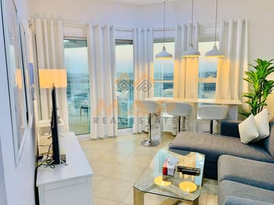 3 Bedroom Flat for Rent in Jumeirah Lake Towers (JLT), Dubai - fully furnished 3 bhk available near to DMCC metro 5 mints away