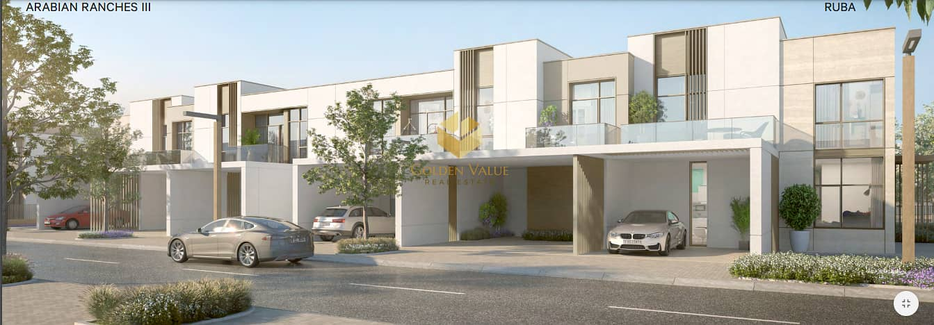 12 Luxurious 3 Beds   5 years payment plan  Community Facilities