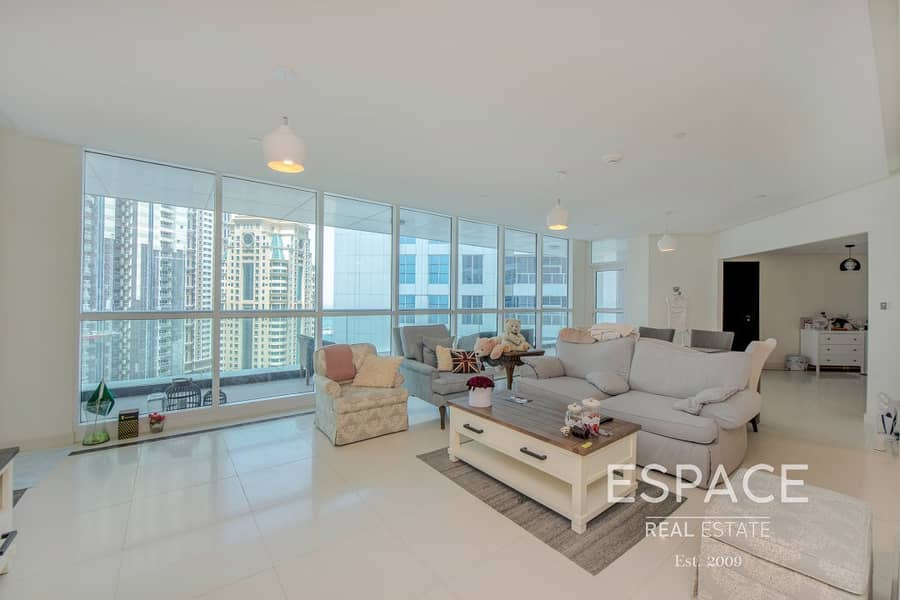 Partial Sea and Marina View | High Floor