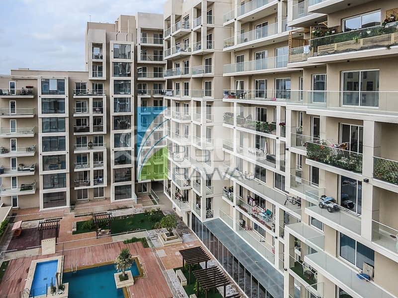 17 Ready to Move-in 2 bedroom apartment with Balcony in Sherena Residence